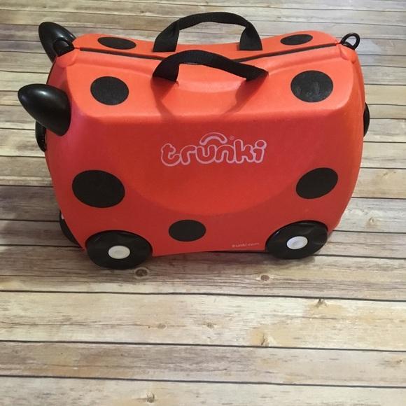 Trunki Other - Melissa & Doug Trunki Ladybug Suitcase